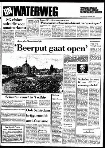 Rotterdamsch Nieuwsblad / Schiedamsche Courant / Rotterdams Dagblad / Waterweg / Algemeen Dagblad 1983-09-22