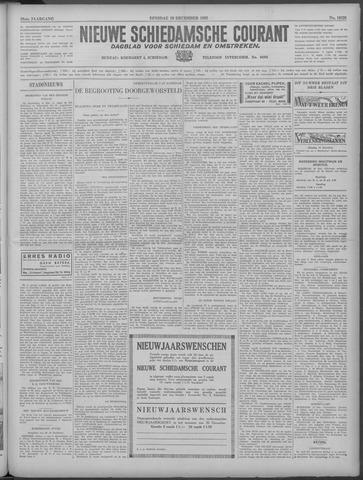 Nieuwe Schiedamsche Courant 1933-12-19