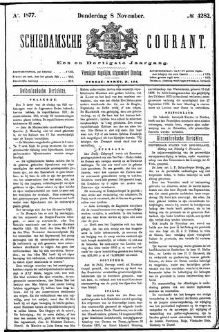 Schiedamsche Courant 1877-11-08