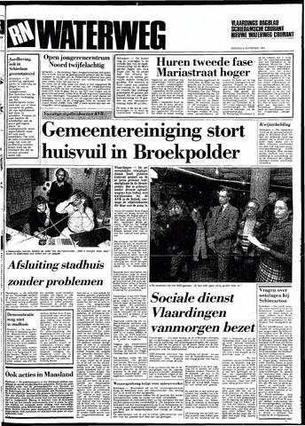 Rotterdamsch Nieuwsblad / Schiedamsche Courant / Rotterdams Dagblad / Waterweg / Algemeen Dagblad 1983-11-08