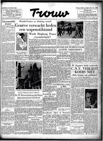 Trouw / De Rotterdammer 1954-07-20