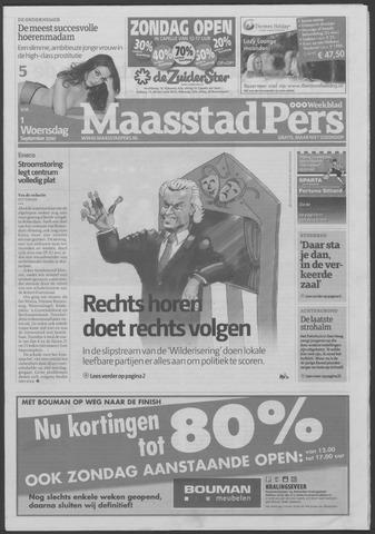 Maaspost / Maasstad / Maasstad Pers 2010-09-01
