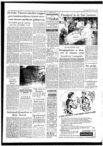 Rotterdamsch Parool / De Schiedammer 1955-12-28