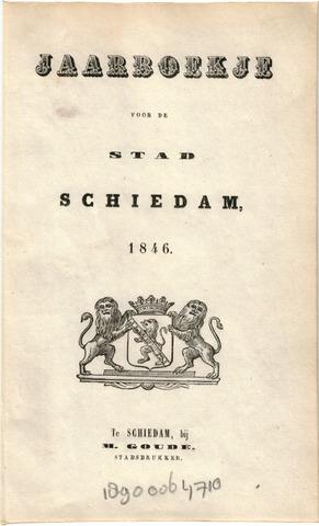Schiedams Jaarboek 1846-01-01
