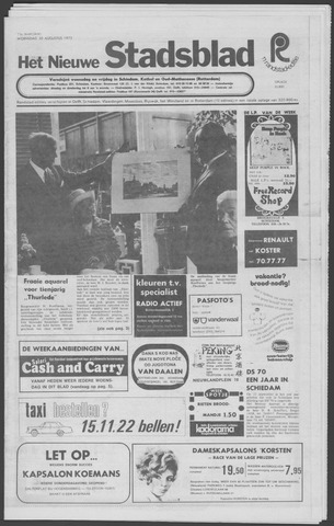 Het Nieuwe Stadsblad 1972-08-30
