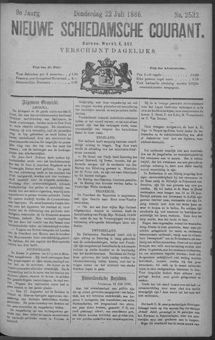 Nieuwe Schiedamsche Courant 1886-07-22
