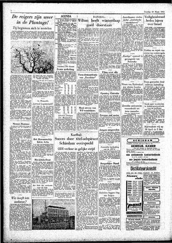 Rotterdamsch Parool / De Schiedammer 1955-03-29