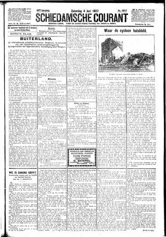 Schiedamsche Courant 1927-06-04