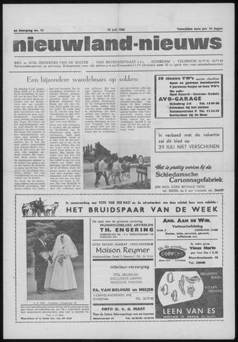 Nieuwland Nieuws 1965-07-15