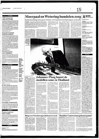 Rotterdamsch Nieuwsblad / Schiedamsche Courant / Rotterdams Dagblad / Waterweg / Algemeen Dagblad 1993-12-07