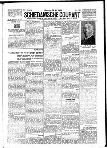 Schiedamsche Courant 1935-07-29