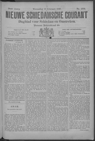 Nieuwe Schiedamsche Courant 1897-02-17