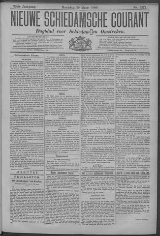Nieuwe Schiedamsche Courant 1909-03-29