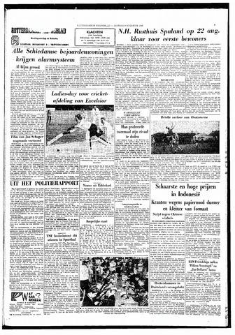 Rotterdamsch Nieuwsblad / Schiedamsche Courant / Rotterdams Dagblad / Waterweg / Algemeen Dagblad 1966-08-09