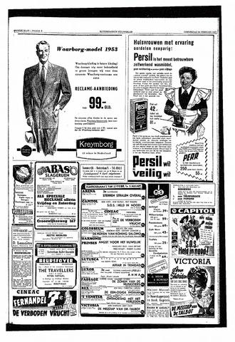 Rotterdamsch Nieuwsblad / Schiedamsche Courant / Rotterdams Dagblad / Waterweg / Algemeen Dagblad 1953-02-26