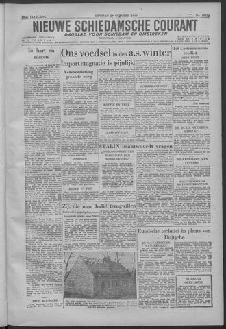 Nieuwe Schiedamsche Courant 1946-10-29