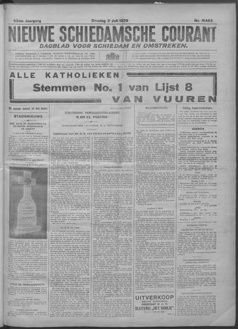 Nieuwe Schiedamsche Courant 1929-07-02