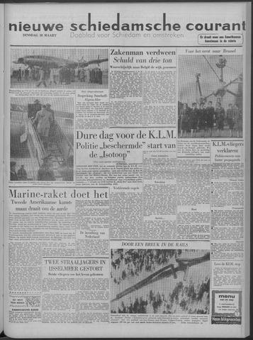 Nieuwe Schiedamsche Courant 1958-03-18