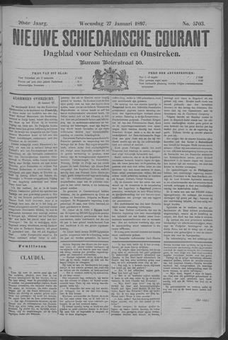 Nieuwe Schiedamsche Courant 1897-01-27