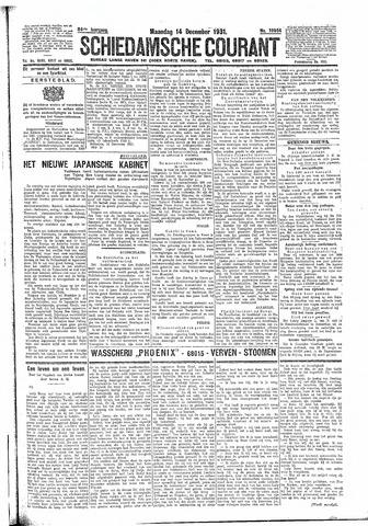 Schiedamsche Courant 1931-12-14