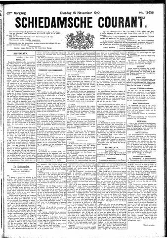 Schiedamsche Courant 1910-11-15