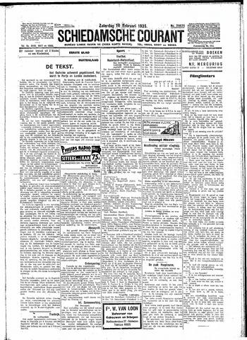Schiedamsche Courant 1935-02-16