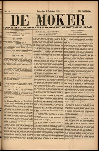 De Moker 1910-10-01