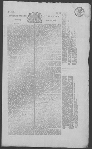 Rotterdamse Courant 1826-06-24