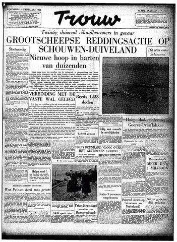 Trouw / De Rotterdammer 1953-02-04
