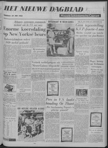 Nieuwe Schiedamsche Courant 1962-05-29