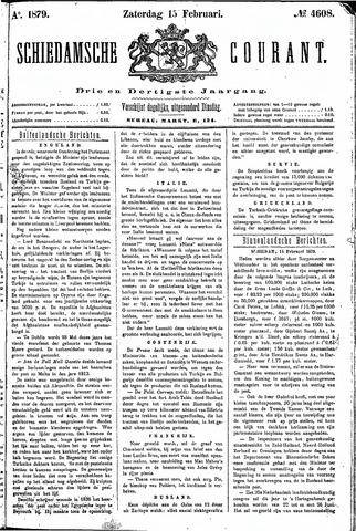 Schiedamsche Courant 1879-02-15