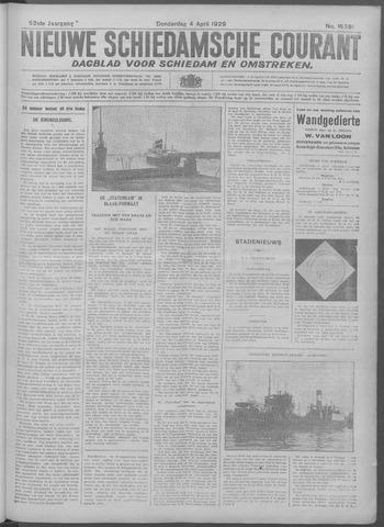 Nieuwe Schiedamsche Courant 1929-04-04