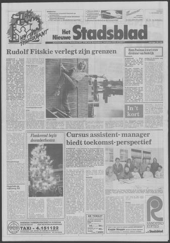 Het Nieuwe Stadsblad 1987-12-11