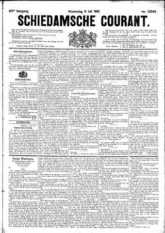 Schiedamsche Courant 1910-07-06