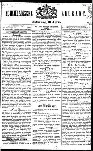 Schiedamsche Courant 1851-04-12