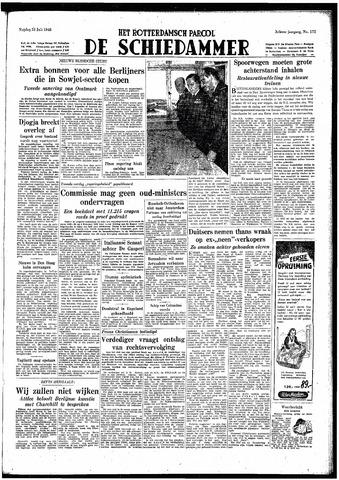 Rotterdamsch Parool / De Schiedammer 1948-07-23
