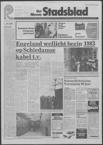 Het Nieuwe Stadsblad 1981-09-04