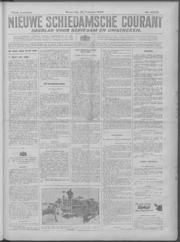 Nieuwe Schiedamsche Courant 1929-02-20