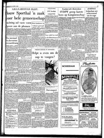 Rotterdamsch Parool / De Schiedammer 1963-04-24