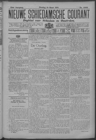 Nieuwe Schiedamsche Courant 1918-03-19