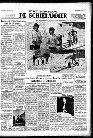 Rotterdamsch Parool / De Schiedammer 1949-02-14