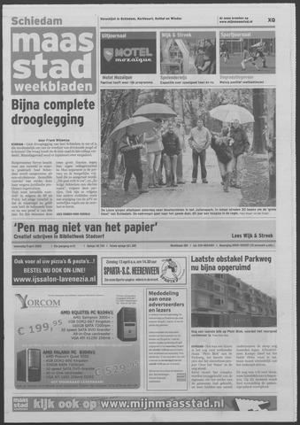 Maaspost / Maasstad / Maasstad Pers 2008-04-09