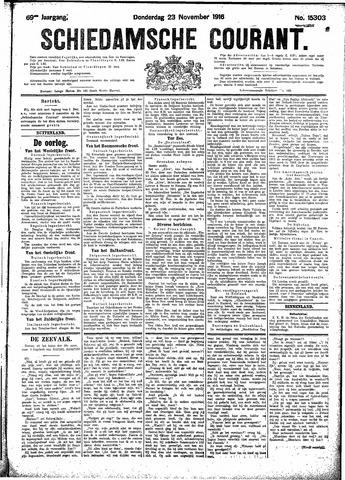 Schiedamsche Courant 1916-11-23