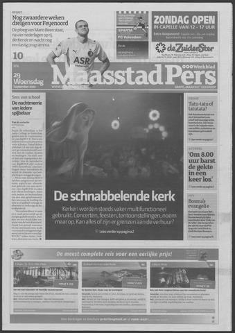 Maaspost / Maasstad / Maasstad Pers 2010-09-29
