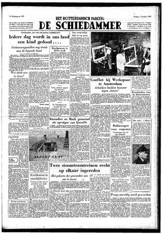 Rotterdamsch Parool / De Schiedammer 1949-10-07