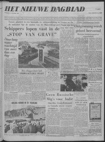 Nieuwe Schiedamsche Courant 1962-10-31