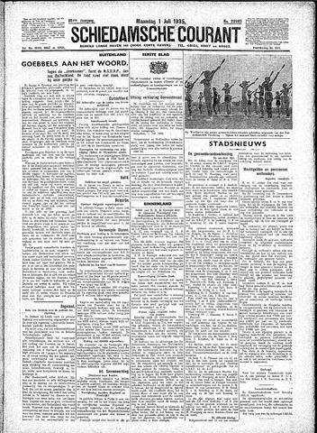 Schiedamsche Courant 1935-07-01
