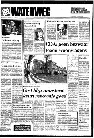 Rotterdamsch Nieuwsblad / Schiedamsche Courant / Rotterdams Dagblad / Waterweg / Algemeen Dagblad 1985-11-20