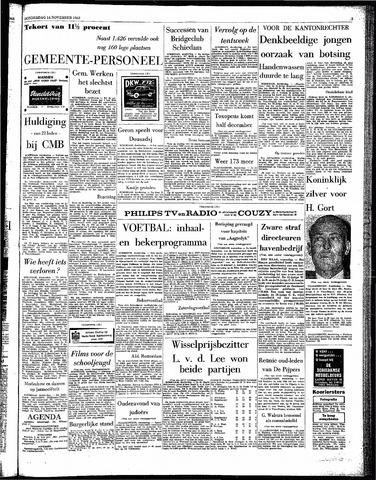 Rotterdamsch Parool / De Schiedammer 1963-11-14