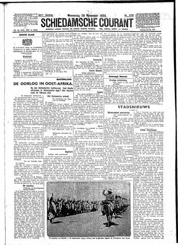 Schiedamsche Courant 1935-11-20